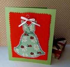 открытка Dress Green, desined by Rhona Norrie