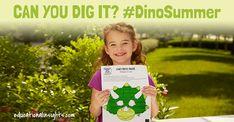Summer Dino Crafts