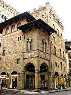 Palazzo dell'Arte della Lana in Florence Tuscany Italy