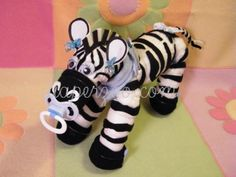 Zebra Centerpieces for Baby Showers | ... baby gifts, baby shower, center piece, babies, shower ideas, ebook