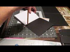 "(francais) Scrapbooking tuto #2-A serie ""Appel a tous"": cahier pivotant - YouTube Mini Albums Scrap, France, Scrapbooks, Creations, Album Photos, Paper Crafts, Gift Wrapping, Envelopes, Journals"