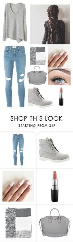 """#51"" by ginger-01 on Polyvore featuring Mode, Frame Denim, Timberland, MAC Cosmetics, Topshop und Givenchy"