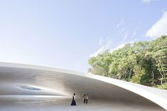 Teshima Art Museum / Ryue Nishizawa / The Teshima Art Museum designed by Tokyo-based architect Ryue Nishizawa and Japanese artist Rei Naito opened in 2010 for the Setouchi International Art Festival that was held in the Takamatsu Port area of Japan.