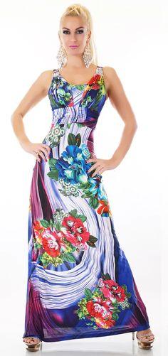 Dlouhé dámské zářivé šaty s květy Dresses, Fashion, Vestidos, Moda, Fashion Styles, Dress, Fashion Illustrations, Gown, Outfits