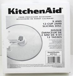 KitchenAid 9 And Slicing Disk Model Kitchenaid, T 4, Ebay, Store, Model, Storage, Scale Model, Models