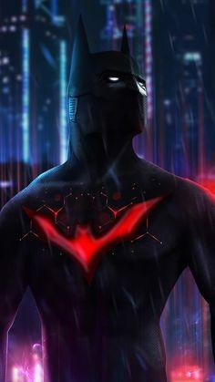 Cyberpunk Batman Beyond , Camille Vialet Batman Poster, Batman Artwork, Batman Comic Art, Batman Vs Superman, Batman Robin, Funny Batman, Nightwing, Batgirl, Batwoman