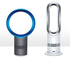 Dyson has created some amazing fans & heaters without blades. Very quiet and really nice. (Image credit - Dyson)