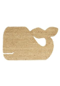 Whale-come Home Doormat, @ModCloth