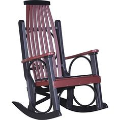 With the smoothest rocking motion imaginable, you can relax and enjoy peaceful afternoons in our Amish Poly Porch Rocker. With a superior design, for comfort an Plastic Rocking Chair, Stainless Steel Fasteners, Outdoor Rocking Chairs, Adirondack Chairs, Homemakers Furniture, Old Hickory, Cafe Chairs, Desk Chairs, Ikea Chairs