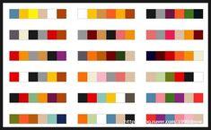 Korean Traditional Colour palet
