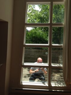 Our installers working hard, as usual! Glass Shower, Working Hard, Windows, Projects, Beautiful, Log Projects, Work Hard, Window, Hard Work