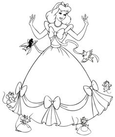 Cinderella And Loyal Friend