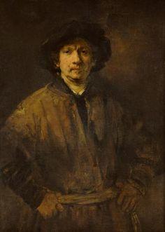 """Rembrandt Harmenszoon van Rijn"". Auto-Retrato. (1652)."
