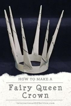 A great activity your kids will love. Make this majestic Fairy Queen Crown at home this Christmas, or anytime of year for your kids to use as part of their favourite dress up game. Halloween Kids, Halloween Crafts, Halloween Party, Christmas Crafts, Rhyming Activities, Craft Activities, Toddler Activities, Dress Up Boxes, Fairy Queen