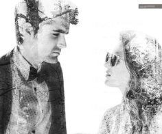 couple double exposure by David Pereiras on 500px