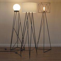 Getting The Perfect Table Lamp For Your Room – Beautiful Lamps Home Lighting, Lighting Design, Luminaria Diy, Diy Floor Lamp, House Plants Decor, Iron Furniture, Lamp Design, Ceiling Lamp, Lamp Light