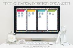 One Lesson at a Time: Taming the Desktop Beast {FREEBIES!}