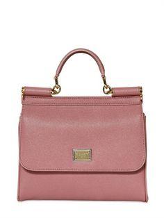 22ded8c53c1c Dolce  amp  Gabbana Sicily Slim Dauphine Leather Bag on shopstyle.com Luxury  Shop