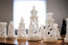 Chess Set. | #3DPrinted #3DPrinting #Customized