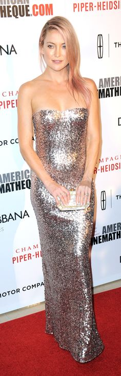 Kate Hudson in Jenny Packham at the Cinematheque Awards.
