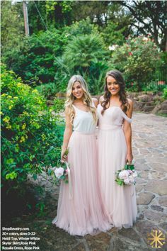What a dream dress! These ladies look amazing in their Rosalie dresses.