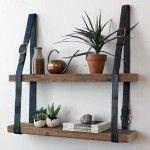 Modern Ideas to Reuse and Recycle Old Belts for Functional Home Furnishings -