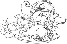 http://colorings.co/thanksgiving-food-coloring-pages/ #Pages, #Thanksgiving, #Coloring