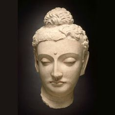 Head of Buddha Śākyamuni, 4th century
