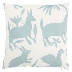 Otomi Pillow in Cloud