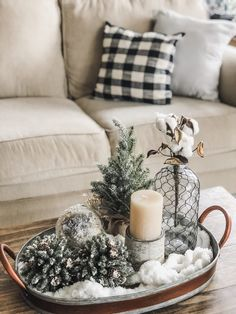 Cozy Winter Living Room Decor! The perfect transition after Christmas! | Wilshire Collections