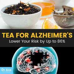 Tea for Alzheimer's - Dr. Axe http://www.draxe.com #health #holistic #natural