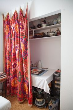 Beatriz S Fun Functional Worke Creative Tour Apartment Therapy Mini Loft