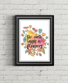 Free Spring Quote Printable Art From Callaloo Soup