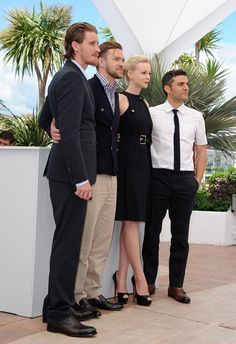 "66th Annual Cannes Film Festival - ""Inside Llewyn David"" Photocall..Palais des Festivals, Cannes, France..May 19, 2013..Job: 130519AC1..(Photo by Axelle Woussen / Bauer-Griffin)..Pictured: Justin Timberlake, Carey Mulligan, Garrett Hedlund, Oscar Isaac, Ethan Coen and Joel Coen."