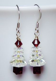 A personal favorite from my Etsy shop https://www.etsy.com/listing/115031413/swarovski-crystal-ab-and-siam-red