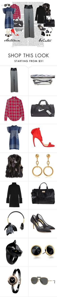 """Untitled #18"" by andrew-tillman ❤ liked on Polyvore featuring Chanel, Marni, R13, NIKE, Chicwish, Walter Steiger, Barneys New York, MM6 Maison Margiela, Blugirl and Rupert Sanderson"