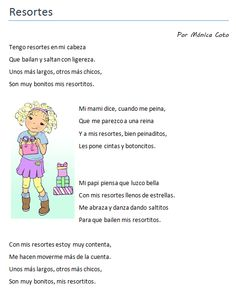 Poema infantil. Bilingual Education