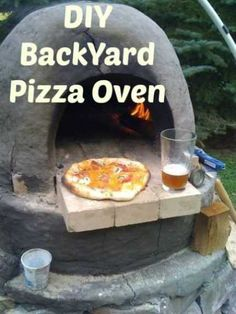 DIY Backyard Pizza Oven · Home and Garden | CraftGossip.com