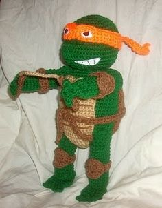 TMNT free patterns- must put on the to do list for the boy