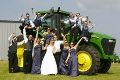 John Deere wedding party                                                       …