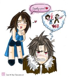 Image result for final fantasy squall x rinoa