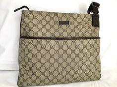 Gucci crossbody bag #gucci #guccihandbags #guccibag #guccibag # Gucci Crossbody Bag, Gucci Handbags, Monogram, Michael Kors, Beige, Fashion, Tela, Gucci Purses, Moda