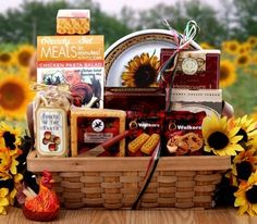 The Perfect Gift Basket - Country Rooster,