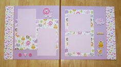 Baby Girl Scrapbook by AngelBDesigns4You