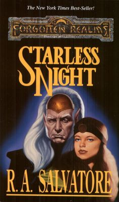 Starless Night (Legacy of the Drow, book 2) by R. A. Salvatore
