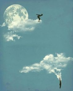 Aquí, tenemos una gran capacidad para soñar ...