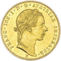 Dukat 1857 E  Kaiserreich Franz Joseph I. 1848 - 1916