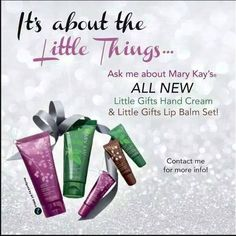 It's ALL About The Little Things!!  BRAND NEW!! Mary Kay Lip Balm www.marykay.com/lcmartinez03