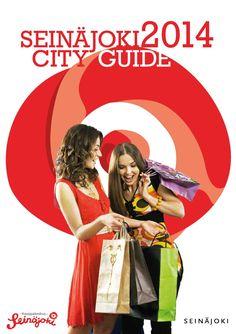Seinajoki City Guide 2014  Seinäjoki City Guide esittelee turisteille kaikenkattavasti kaupungistamme kaiken tietämisen arvoisen.   Opas on helppolukuinen ja monipuolinen. Oppaasta julkaistaan kaksi kieliversiota – Suomi ja englanti.   Esitteen voi ladata verkosta myös pdf muodossa ja lisäksi mobiililaitteille omassa sovelluksessa (Seinäjoki City Guide, joka jo nyt ladattavissa AppStoresta Google Playstä sekä Windows Phone -kaupasta).