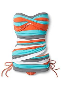 Sweet bandeau tankini http://rstyle.me/n/my6rdnyg6